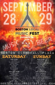 Boston Local Music Festival 2019 @ Boston City Hall Plaza